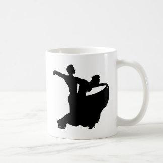 Ballroom Dancing Basic White Mug