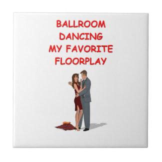 ballroom dancing ceramic tile