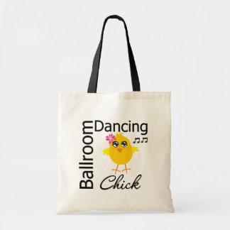 Ballroom Dancing Chick Tote Bag