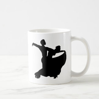 Ballroom Dancing Classic White Coffee Mug