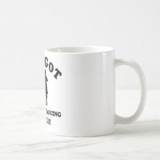 Ballroom dancing designs coffee mug