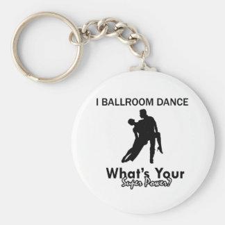 Ballroom dancing designs keychain