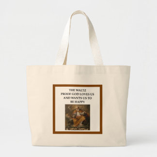 ballroom dancing large tote bag