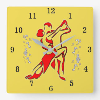 Ballroom Dancing Wall Clock