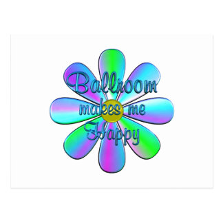 Ballroom Happy Postcard