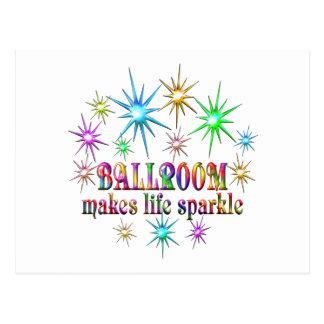 Ballroom Sparkles Postcard