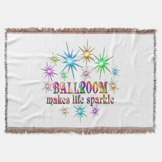 Ballroom Sparkles Throw