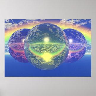 Balls 2 - Un-natural Rainbow Poster