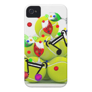 Balls music joy. iPhone 4 case