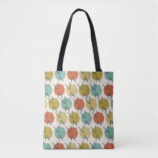Balls of Wool Pattern Tote Bag