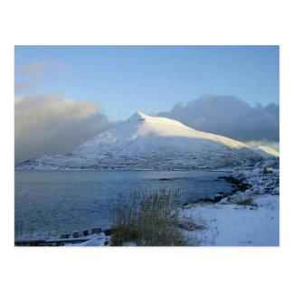 Ballyhoo Mountain, Dutch Harbor, AK Postcard