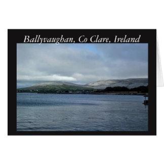 Ballyvaghan, Clare, Ireland Card