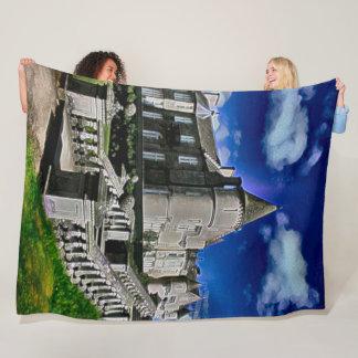 Balmoral Castle, Scotland Acrylic Art Fleece Blanket