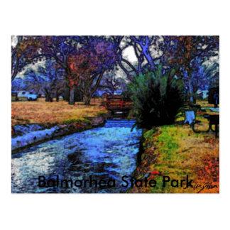 Balmorhea, Texas 001a, Balmorhea State Park Postcard