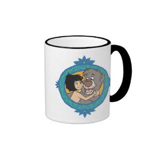 Baloo and Mowgli in a Frame Disney Ringer Coffee Mug