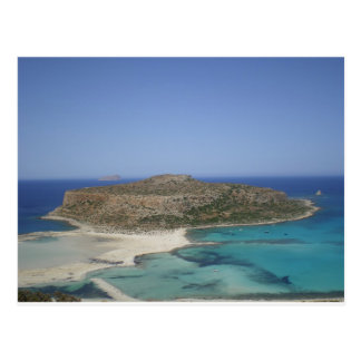 Balos Beach, Crete,  Greece Postcard