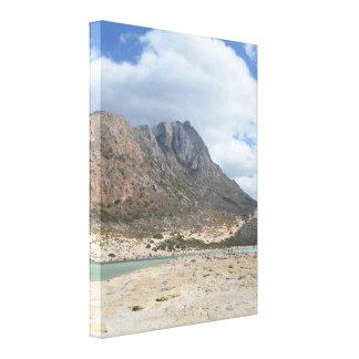 Balos, Crete Landscape Canvas Print
