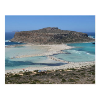 Balos Lagoon, Crete Greece Beach Postcard