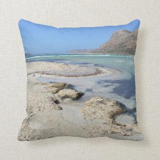Balos Lagoon Gift - Throw Pillow / Cushion
