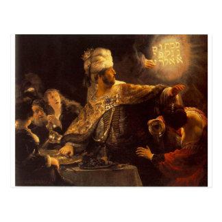Balshazzar's Feast Postcard