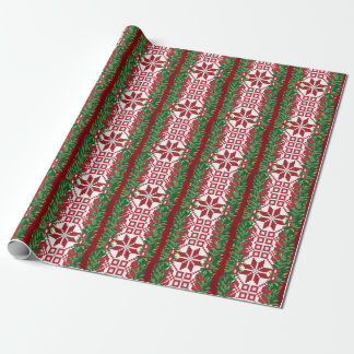 Baltic Christmas Wrapping Paper