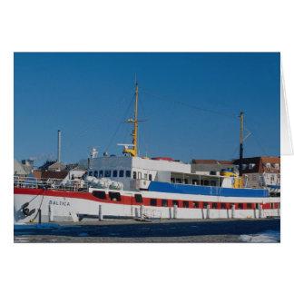 Baltic ferry card