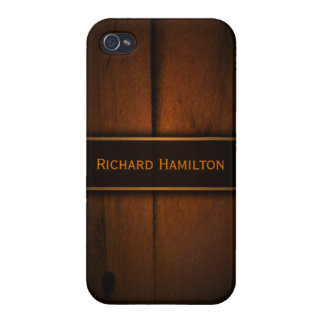 Baltic Pine Faux Wood Savvy iPhone 4 Matte Cases