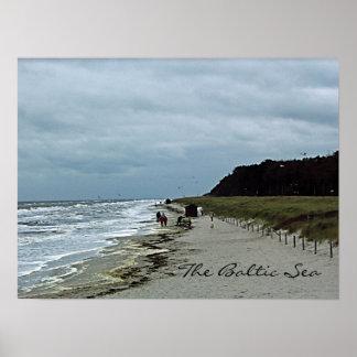Baltic Sea Beach Poster