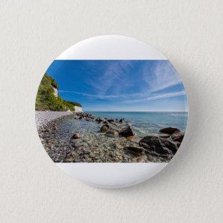 Baltic Sea coast on the island Ruegen 2 Inch Round Button