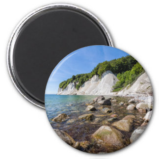 Baltic Sea coast on the island Ruegen 2 Inch Round Magnet