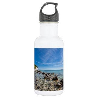 Baltic Sea coast on the island Ruegen 532 Ml Water Bottle