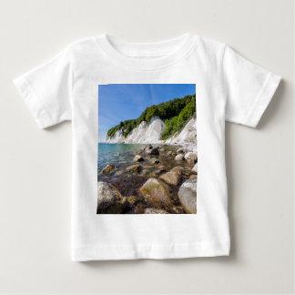 Baltic Sea coast on the island Ruegen Baby T-Shirt