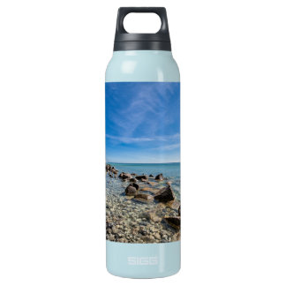 Baltic Sea coast on the island Ruegen Insulated Water Bottle