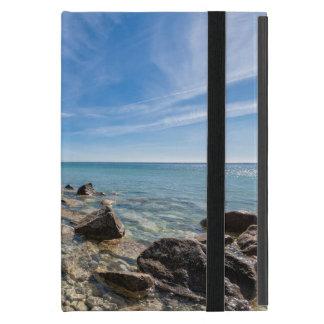 Baltic Sea coast on the island Ruegen iPad Mini Case