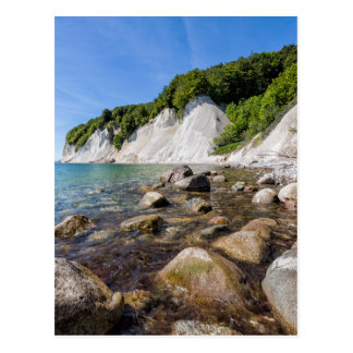 Baltic Sea coast on the island Ruegen Postcard
