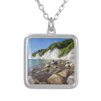 Baltic Sea coast on the island Ruegen Silver Plated Necklace