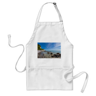 Baltic Sea coast on the island Ruegen Standard Apron