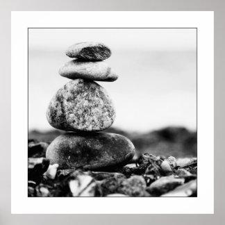 Baltic Sea stones Poster