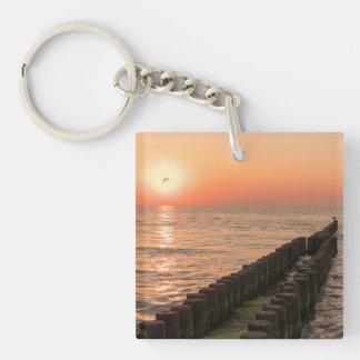 Baltic sunset keychain