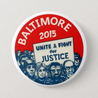 Baltimore 2015 3 inch round button