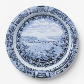 Baltimore and Ohio Vintage Railroad China Paper Plate
