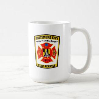 Baltimore City Fire Department Mug
