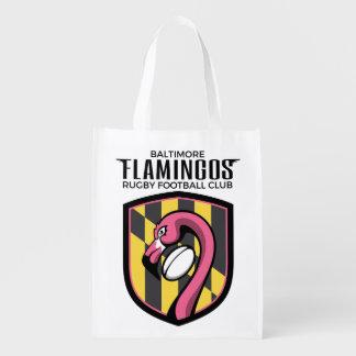 Baltimore Flamingos Reusable Bag