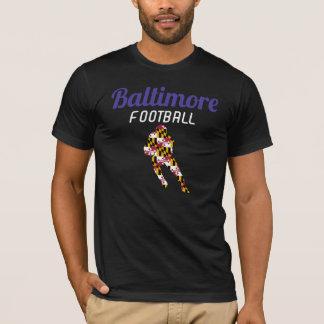 Baltimore Football Short Sleeve BLK T-Shirt