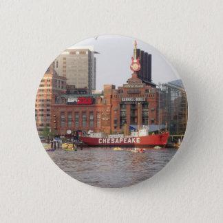 Baltimore Harbor 2 Inch Round Button