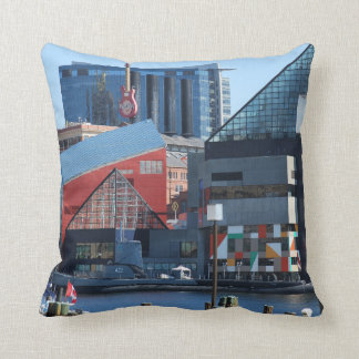 Baltimore Inner Harbor Pillow