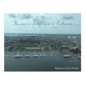 Baltimore Inner Harbor Post Card