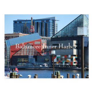 Baltimore Inner Harbor Postcard
