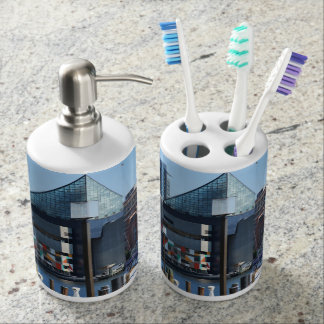 Baltimore Inner Harbor Toothbrush Holder