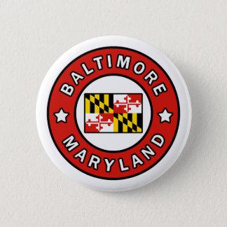 Baltimore Maryland 2 Inch Round Button